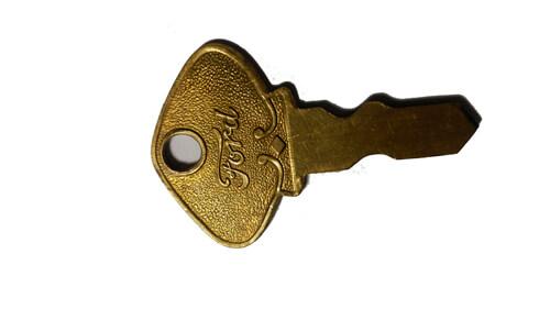 La primera llave de los coches Ford